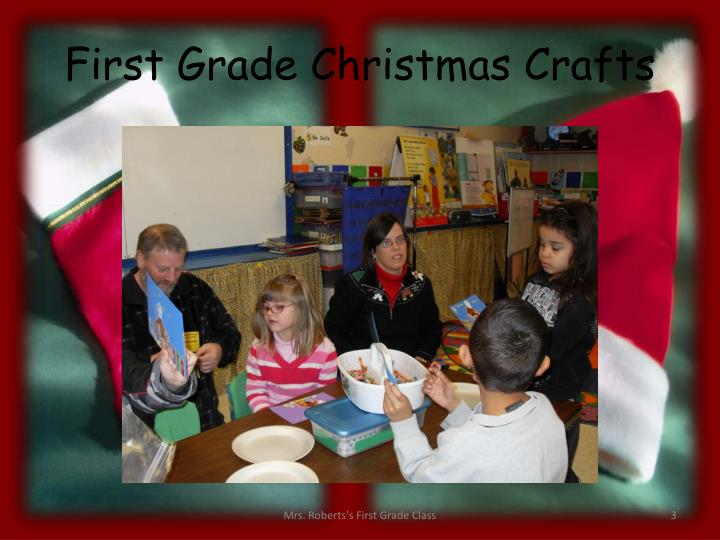 First Grade Christmas Crafts