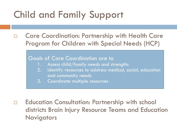 Child and Family Support