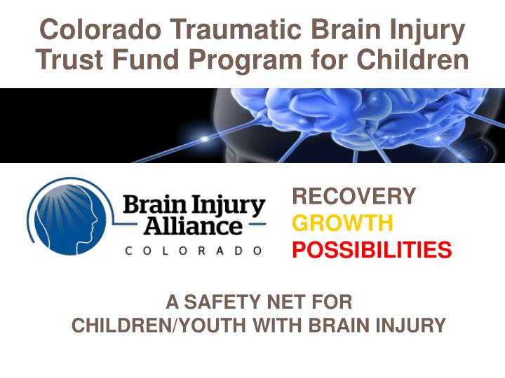Colorado Traumatic Brain Injury