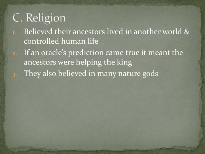 C. Religion