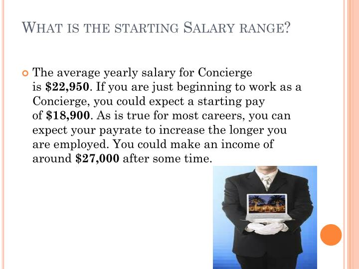 What is the starting Salary