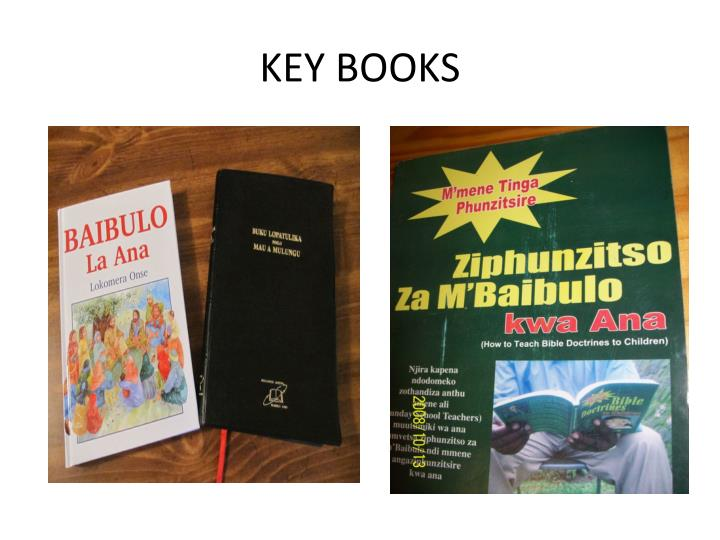 KEY BOOKS