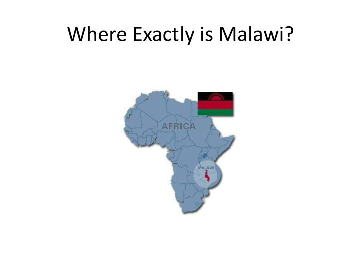 Where Exactly is Malawi?