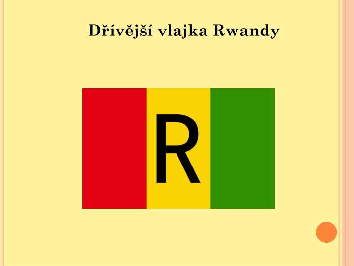 Dřívější vlajka Rwandy