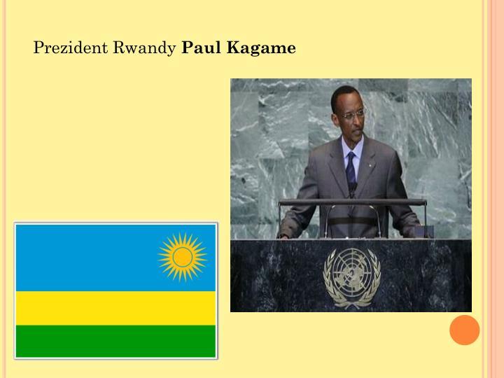 Prezident Rwandy