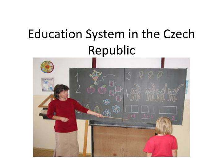 Education system in the czech republic