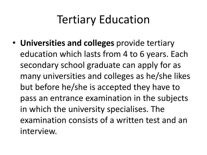 Tertiary