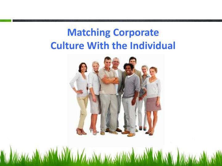 Matching Corporate