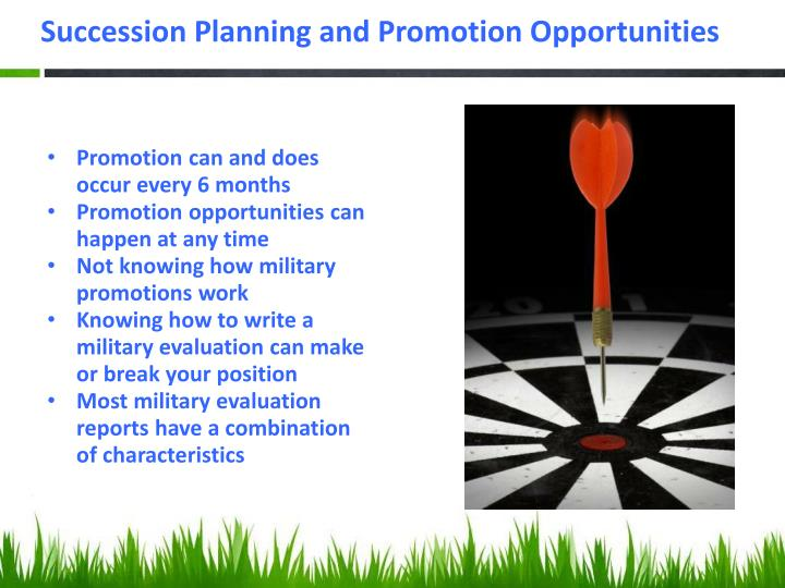 Succession Planning and Promotion Opportunities