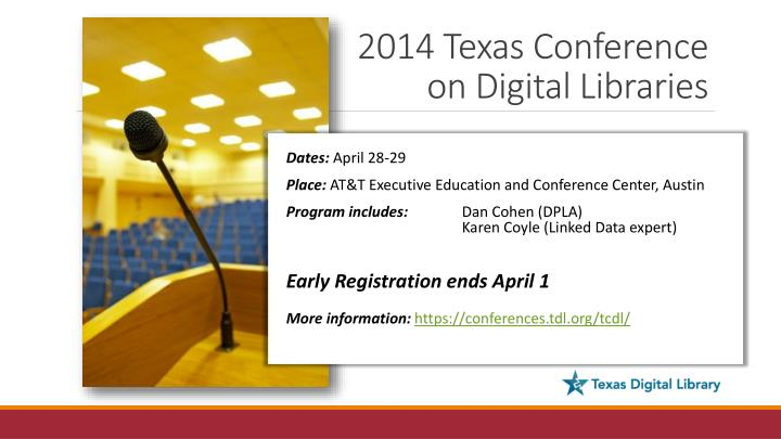 2014 Texas Conference