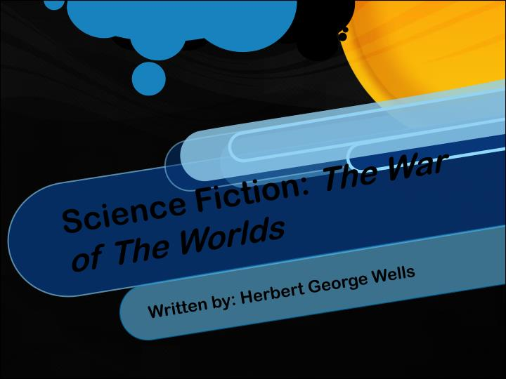 Science fiction the war of the worlds