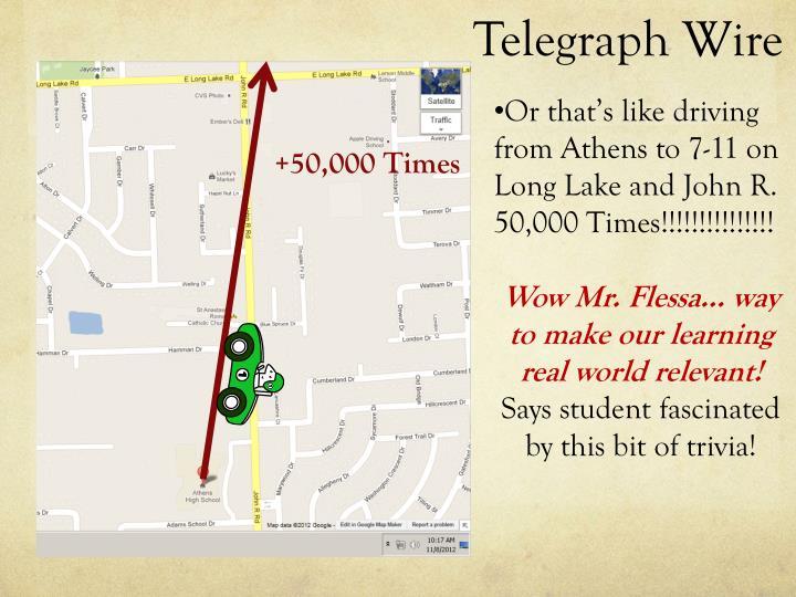Telegraph Wire