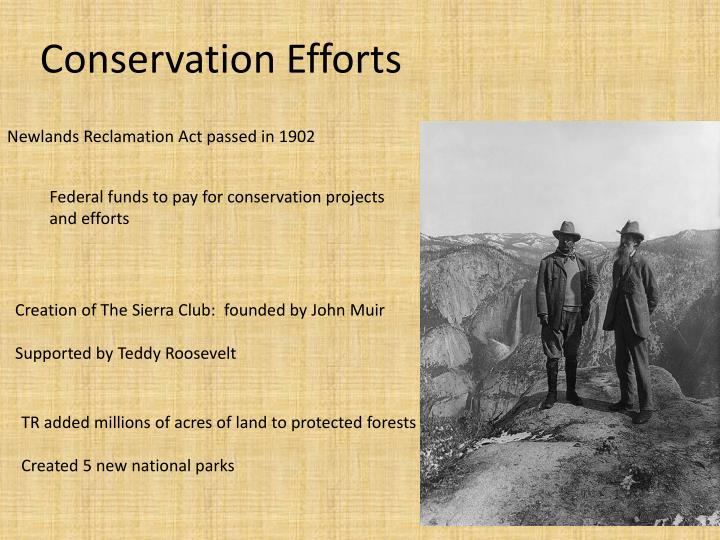 Newlands Reclamation Act passed in 1902