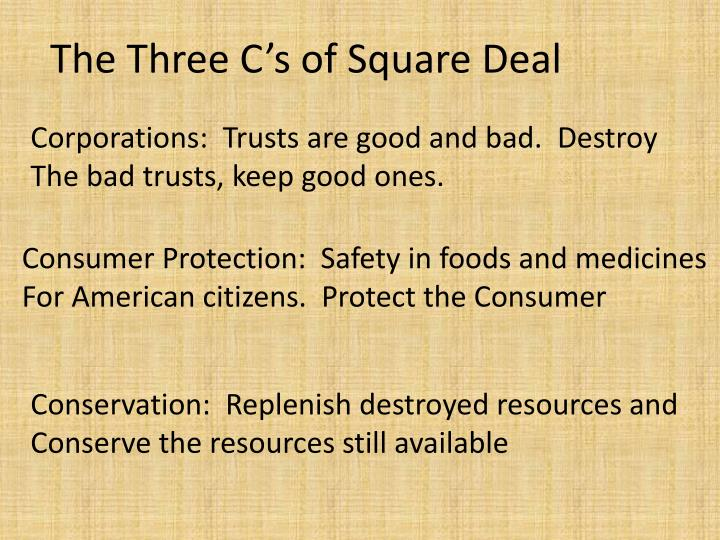 Corporations:  Trusts are good and bad.  Destroy