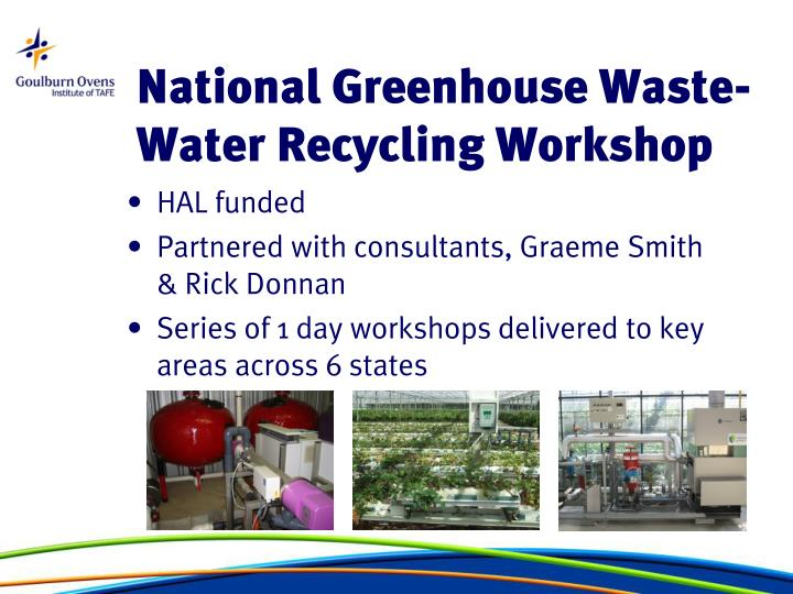 National Greenhouse Waste-Water