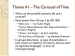 theme 1 the carousel of time