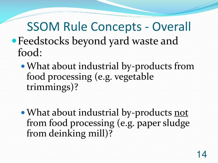 SSOM Rule Concepts - Overall