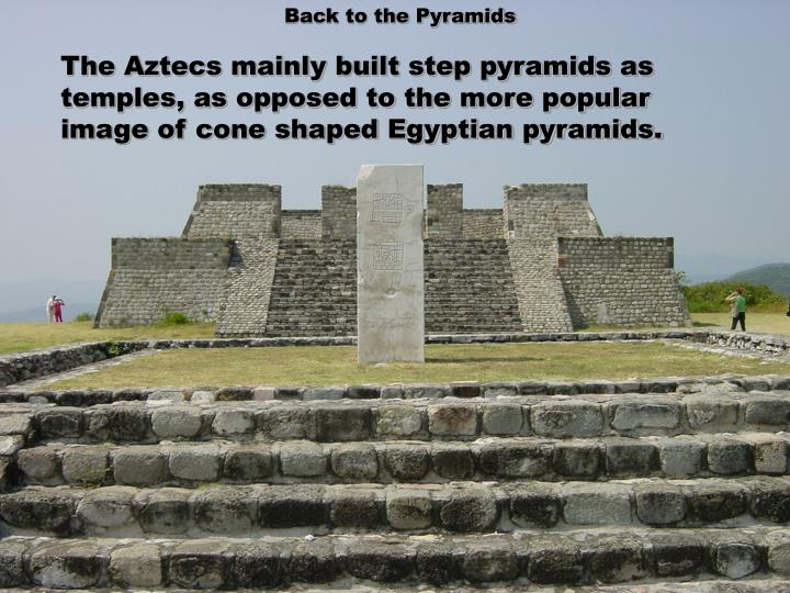Back to the Pyramids