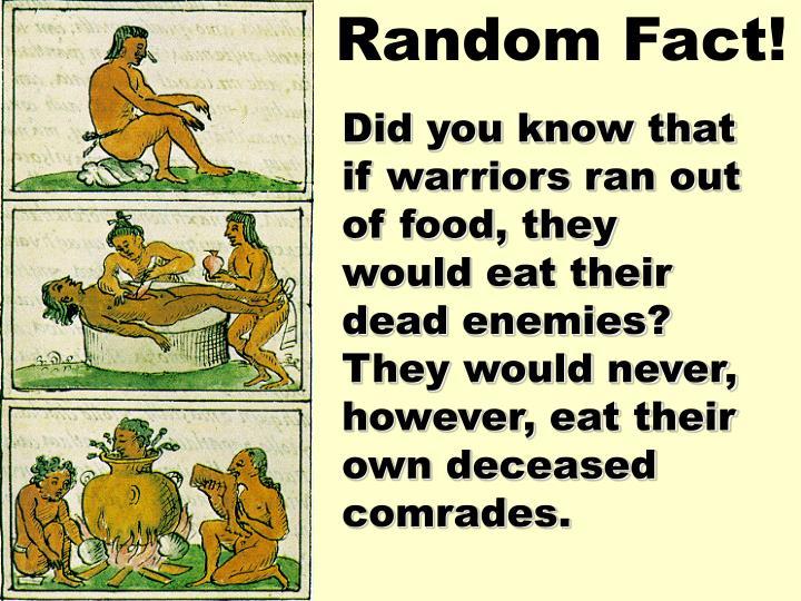 Random Fact!