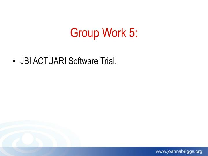 JBI ACTUARI Software