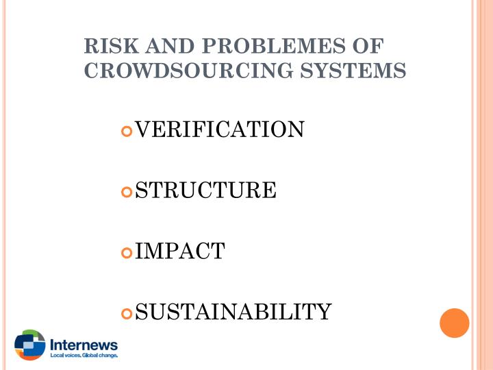 RISK AND PROBLEMES OF CROWDSOURCING SYSTEMS