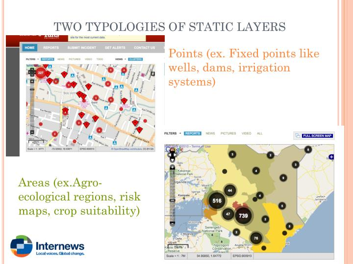 TWO TYPOLOGIES OF STATIC LAYERS