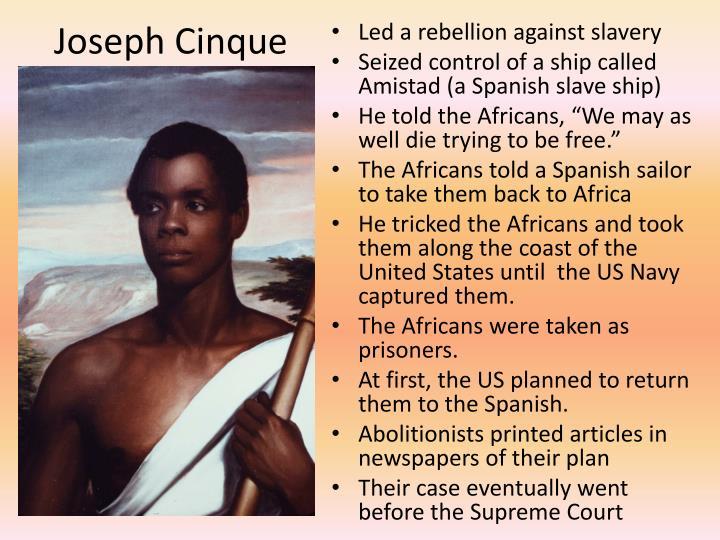 Joseph Cinque