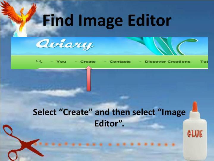 Find Image Editor