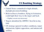 us bombing strategy