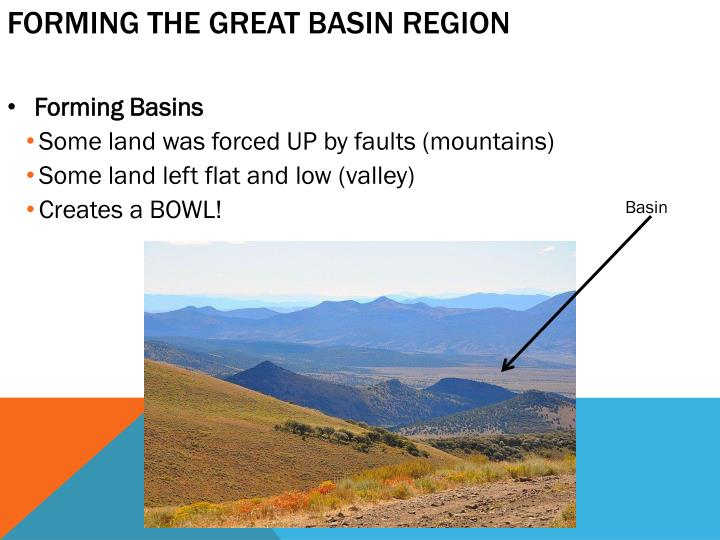 Forming the Great Basin Region