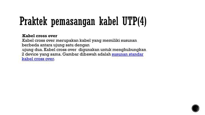 Praktek pemasangan kabel UTP(4)