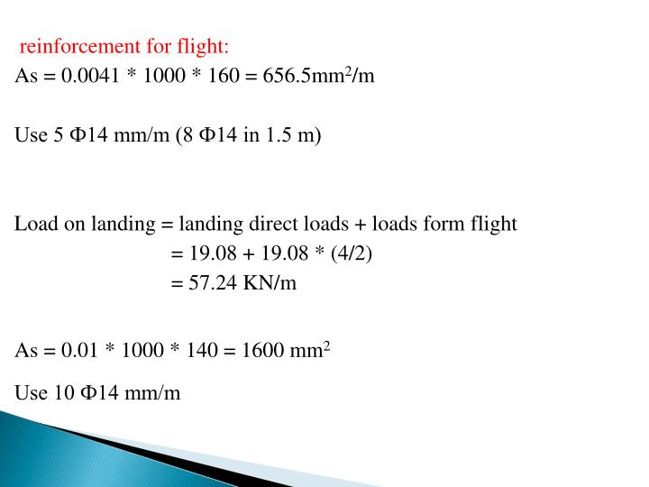 reinforcement for flight: