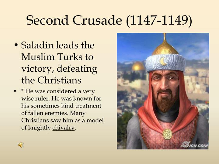 Second Crusade (1147-1149)