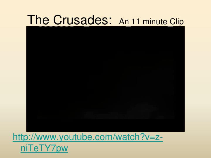 The Crusades: