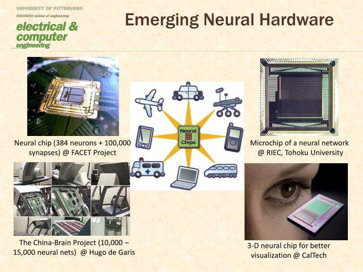 Emerging neural hardware
