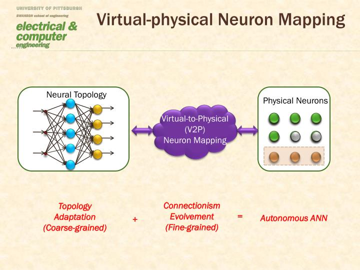 Virtual-physical Neuron Mapping