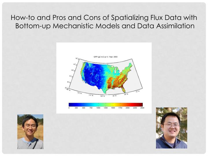 How-to and Pros and Cons of Spatializing Flux Data with