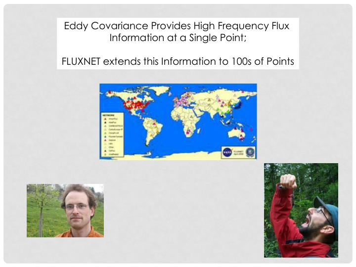 Eddy Covariance Provides High Frequency Flux