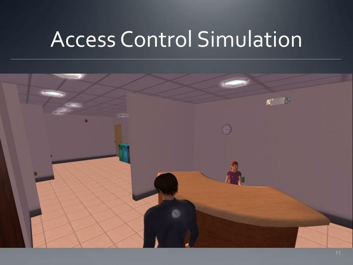 Access Control Simulation