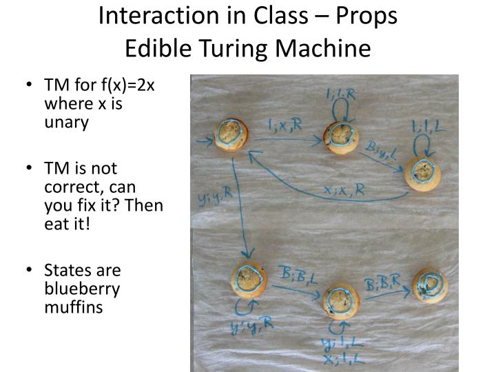 Interaction in Class – Props