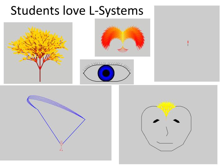 Students love L-Systems