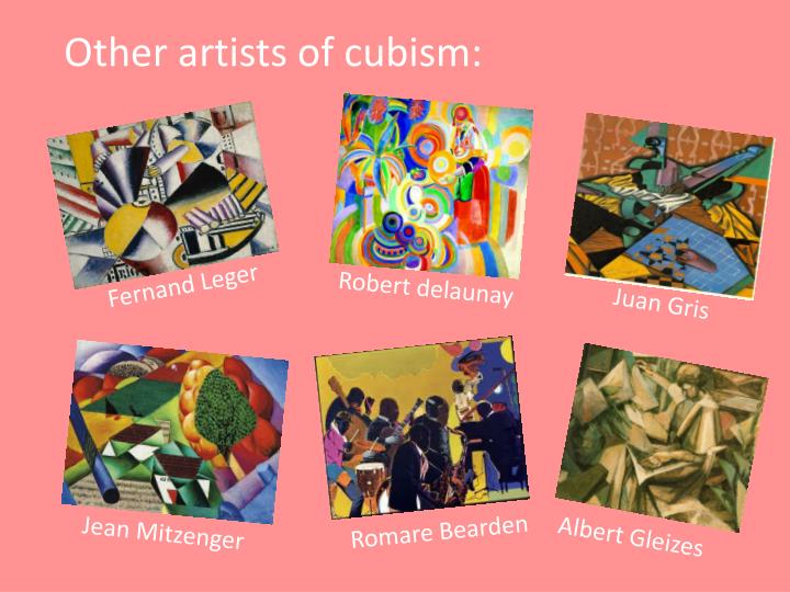 Other artists of cubism: