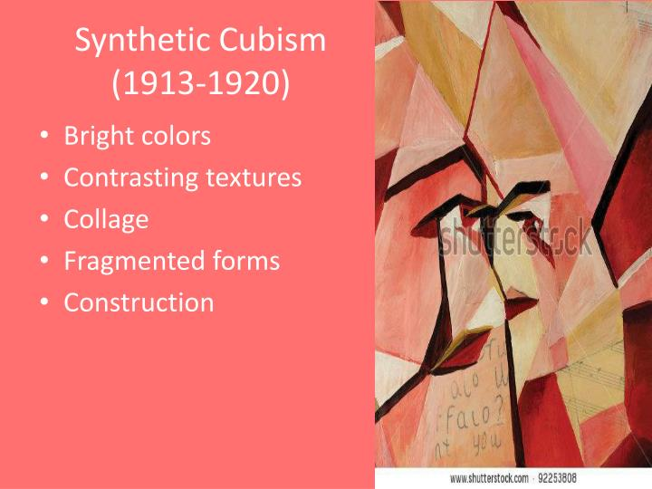 Synthetic Cubism (1913-1920)