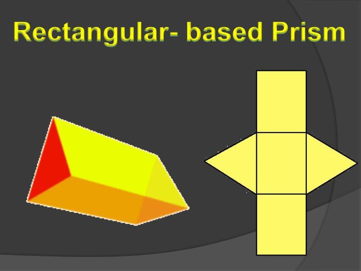 Rectangular- based Prism