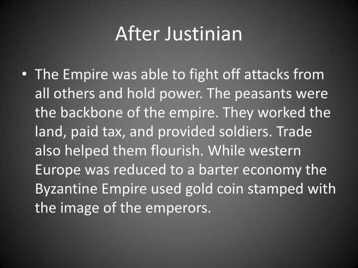 After Justinian