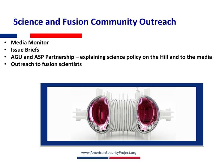 Science and Fusion Community