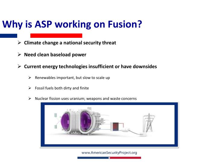Why is ASP working on Fusion?