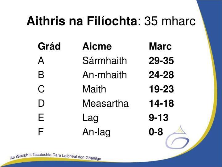 Aithris na Filíochta
