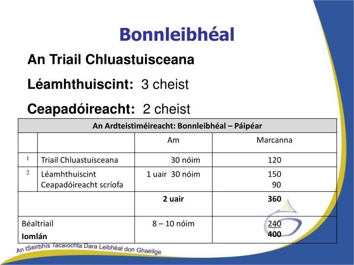 Bonnleibhéal