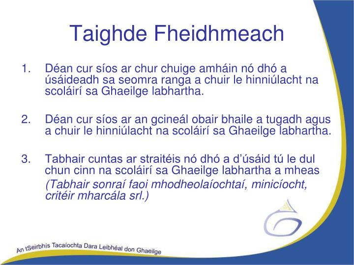 Taighde Fheidhmeach